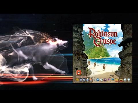 Настольная игра Робинзон Крузо (Robinson Crusoe). Часть 2. Прохождение 1