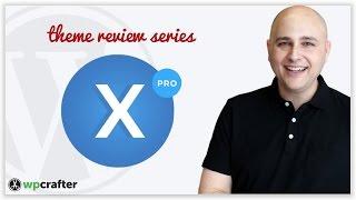 X Pro Theme Review & Walkthrough - ThemeForest 2nd Most Popular WordPress Theme & Cornerstone Page B