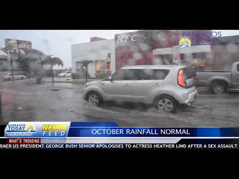 BARBADOS TODAY EVENING UPDATE - October 25, 2017