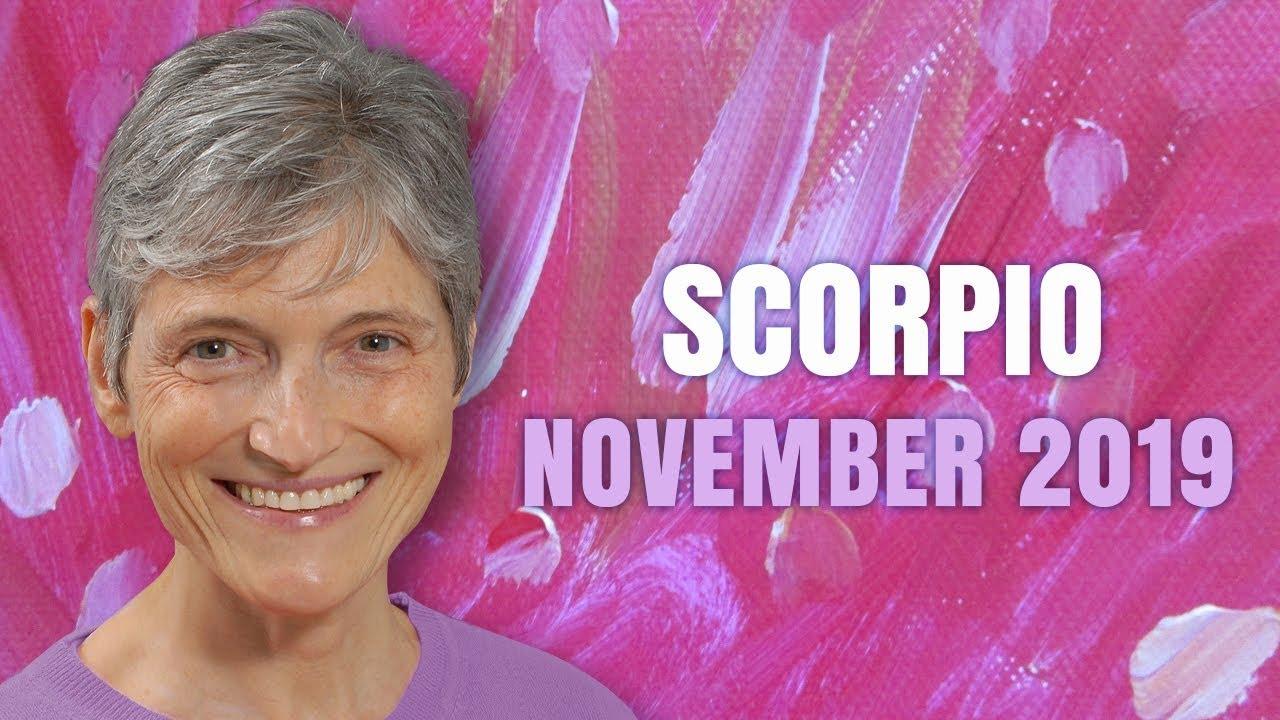 scorpio 25 november 2019 horoscope
