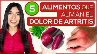 5 Alimentos para curar la Artritis y el dolor de articulaciones