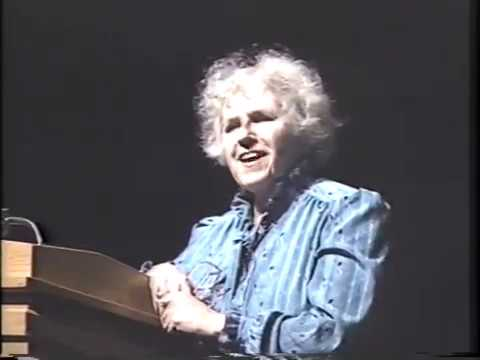 Short story author Grace Paley reads and answers questions