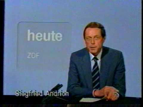 ZDF heute Siegfried Andrich Sendeschluß Testbild vom 27 12