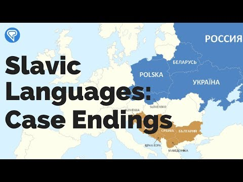 Noticing Case Endings in the Slavic Languages