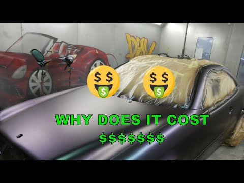Why does it COST SO MUCH paint a car!!! articles