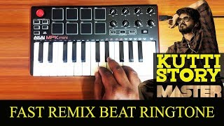 Master - Kutty Story Song | Fast Kuthu Beat | Cover By Raj Bharath | Thalapathy Vijay | Anirudh