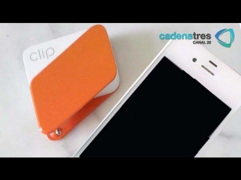 Clip: aditamento para aceptar pagos con tarjetas de crédito y debito en smartphone