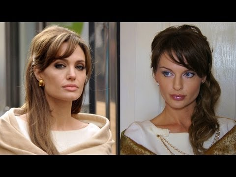 Макияж и укладка Анджелины Джоли из фильма Турист (KatyaWORLD)
