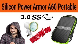 Silicon Power Armor A60 Shockproof 1TB Portable Hard Drive Unboxing amp Review Sohail Computers