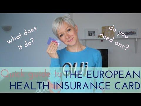 EUROPEAN HEALTH INSURANCE CARD | EHIC | A QUICK GUIDE