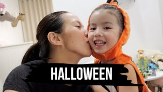 Trick or Treating with Olivia Halloween 2018