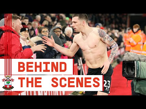 BEHIND THE SCENES: Southampton 1-1 Crystal Palace | Premier League