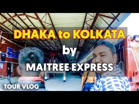 Dhaka to Kolkata Journey Experience by Maitree Express with ENGLISH Subtitle | VLOG | A Rahman ATIK thumbnail