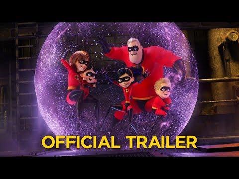 Incredibles 2 trailers