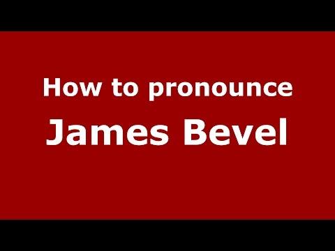 How to pronounce James Bevel (American English/US)  - PronounceNames.com