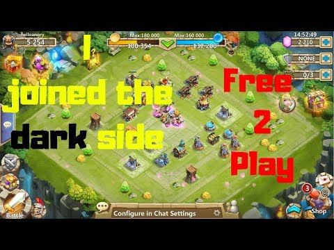 I Have A Free 2 Play Account Now! | Castle Clash