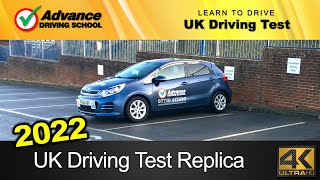 2019 UK Driving Test Replica (full route with Sat-Nav / manual car)