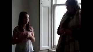 Layla Brown and Inez in the Room with a View for Oxjam, 27/10/13. Movie by Daisy Dundee