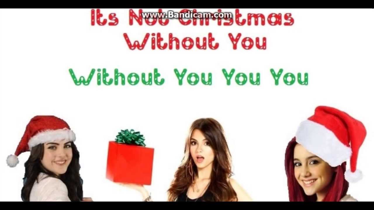 It\'s Not Christmas Without You Victorious Cast Ft Victoria Justice ...