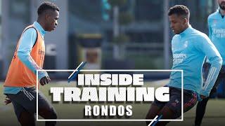 ⭕ Real Madrid rondos! | Join Vini Jr., Rodrygo & co. at training!