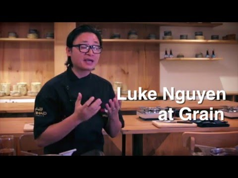 Luke Nguyen at Grain Cooking School Ho Chi Minh City