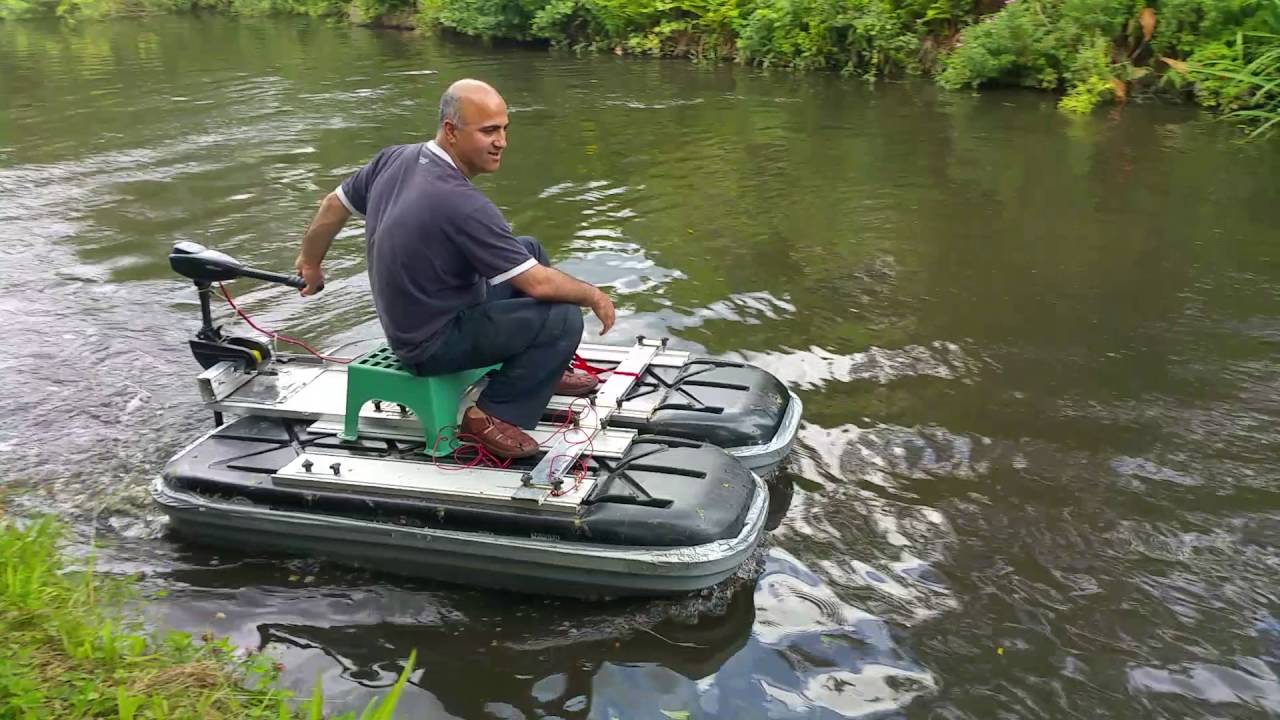 Electric Outboard Bison Homemade Boat Homemade Pontoon