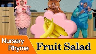 Fruit Salad - Nursery Rhymes for Children with Lyrics | Fun and Learn