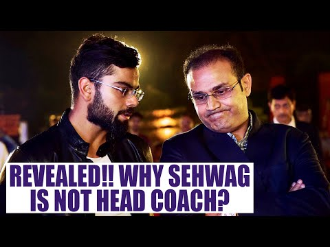 Virender Sehwag failed to become head coach, reason revealed | Oneindia News