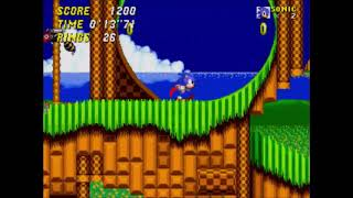 "Sonic 2 2013 - Emerald Hill 1 - 16""63 (Speed Run)"