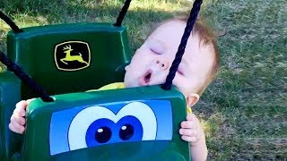 BEST FUNNY CUTE Kids Can Fall Asleep Everywhere | FUNNY Baby Video