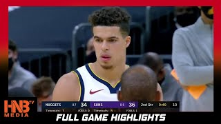 Denver Nuggets vs Phoenix Suns 1.23.21 Full Highlights