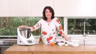 Thermomix Ambassador Anna Gare - Banana, Raspberry And Coconut Loaf