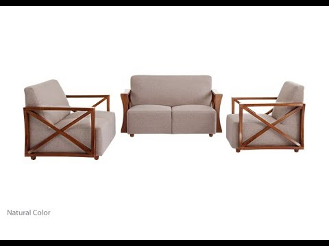 sofa set wooden and lccquer beautiful design low price hatil rh youtube com