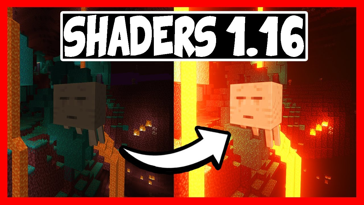 👉 Cómo INSTALAR SHADERS en MINECRAFT 1.16