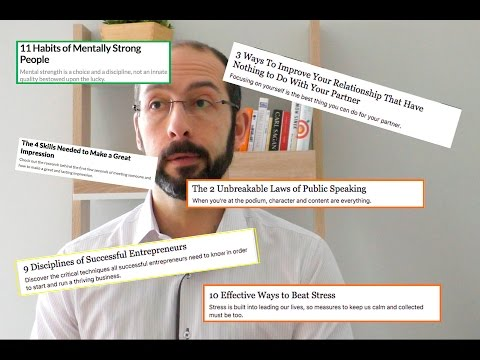 3 things you can do with listicles that will boost your personal growth