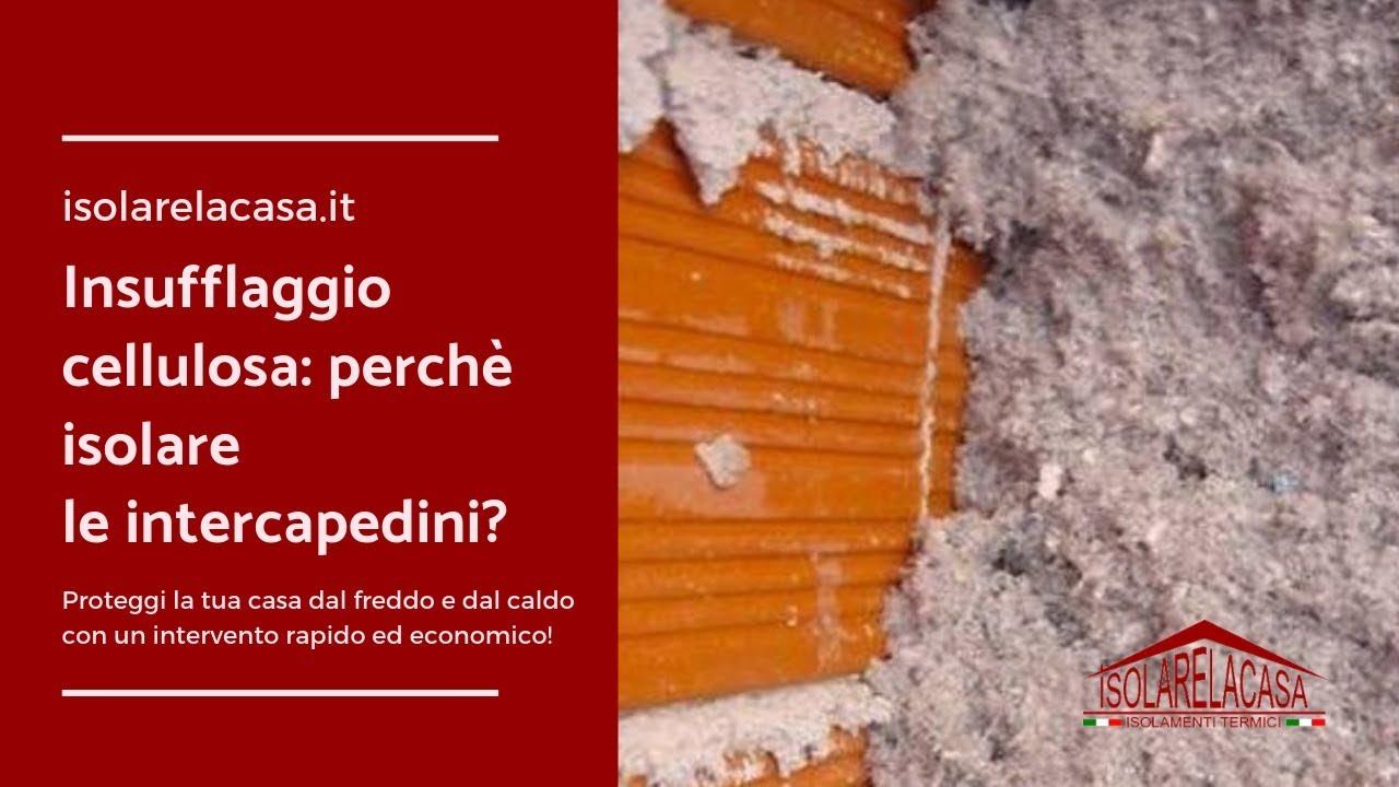 Isolare La Casa Basaluzzo insufflaggio cellulosa per isolare le intercapedini casa