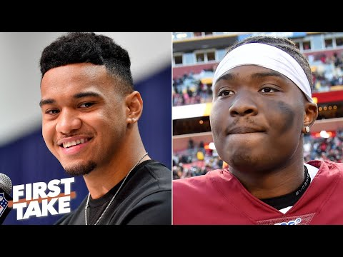The Redskins should draft Tua Tagovailoa to battle with Dwayne Haskins - Mel Kiper | First Take