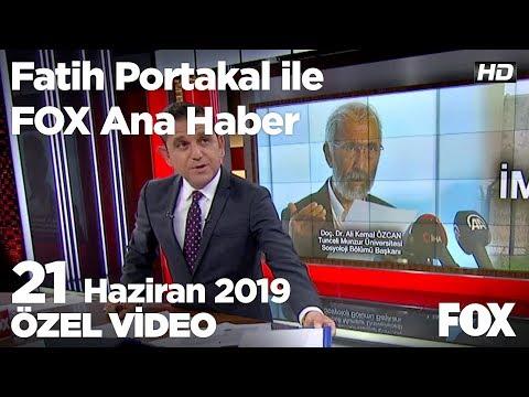 İmralı'daki sır dolu görüşmeyi yapan Özcan kim? 21 Haziran 2019 Fatih Portakal ile FOX Ana Haber