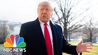 Trump Congratulates Bernie Sanders On Nevada Win, Thinks He Will Be Democratic Nominee | NBC News
