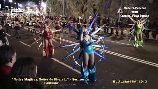 Carnaval na Madeira Funchal 2013 Noites Mágicas, Noites de Diversão. Carnival in Madeira Part 4