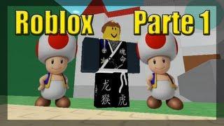 Jogando Roblox - Aventuras de Mario Parte 1