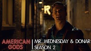 Mr. Wednesday & Donar | American Gods - Season Two