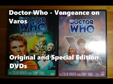 Doctor Who Vengeance on Varos - Original and Special Edition DVDs