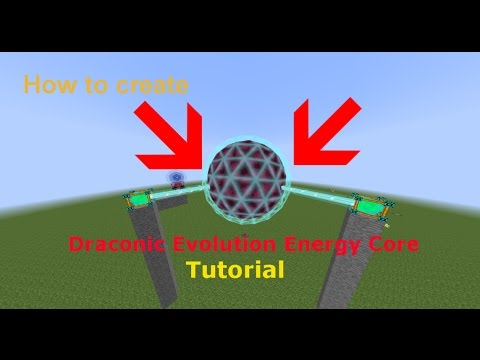 Draconic Evolution Energy Core | Tutorial | Deutsch