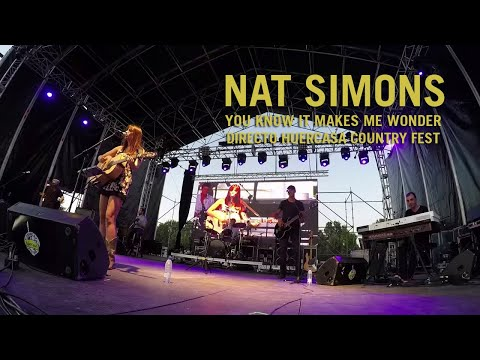 Nat Simons- You know it makes me wonder- Huercasa Country Festival mp3