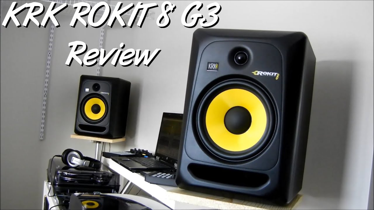 Krk Rokit 8 G3 Review Youtube