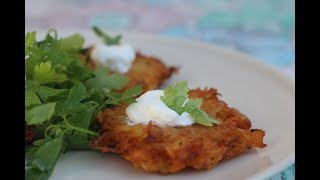 Zemiakové placky – Slovakian Potato Pancakes - Magda