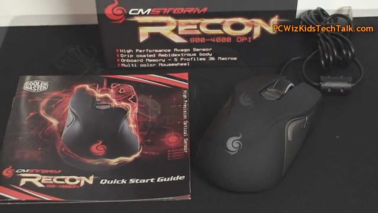 950f4ad1fb3 Cooler Master Storm Recon Gaming Mouse Review - YouTube