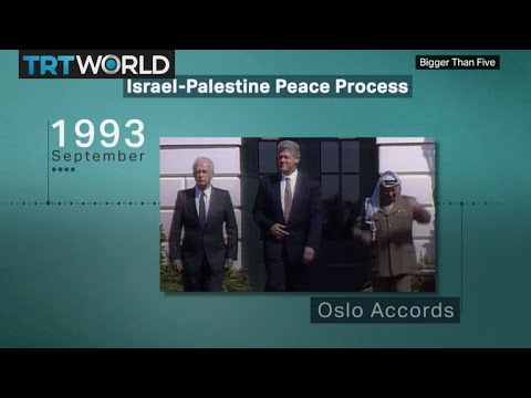 Key Moments In The Palestinian-Israeli Peace Process | Bigger Than Five