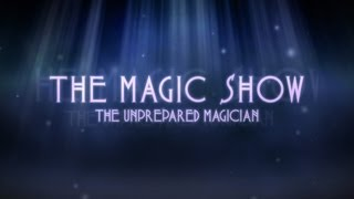 One Direction 1D iPad Song from - The Magic Show - The Unprepared Magician - BELIEVE